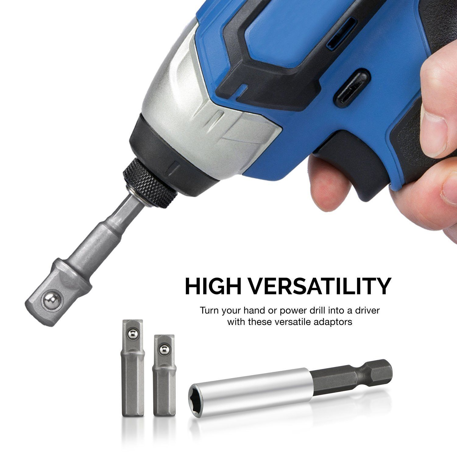 Discount58v Rechargeable Battery Electric Drill Electric Socket Wrench Electric Screwdriver Impact Drill Bit Drill Chuck Power Tool Sets58v Rechargeable Batt