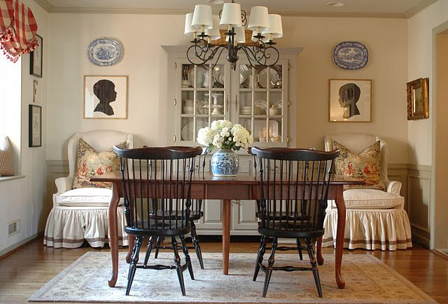Perfect Holly Mathis Interiors  Grey Paint On China Cabinet. Martha Stewart  Flagstone At Home Depot. Tessau0027s Dining Room From Nine And Sixteen. Design Ideas