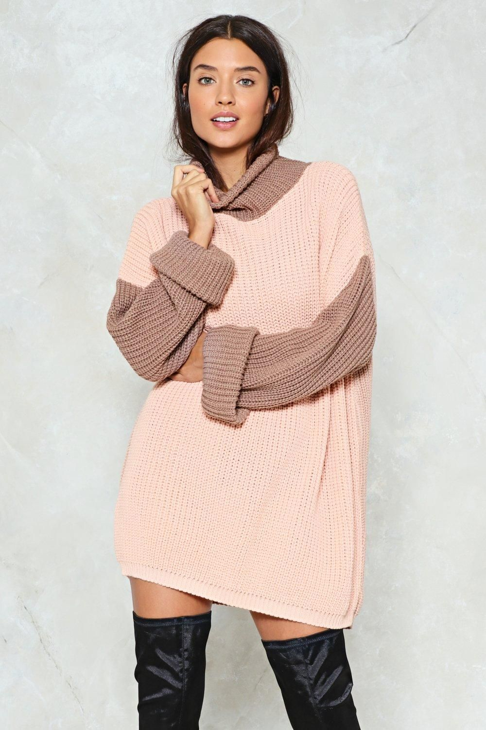 Sweater Dresses for Less