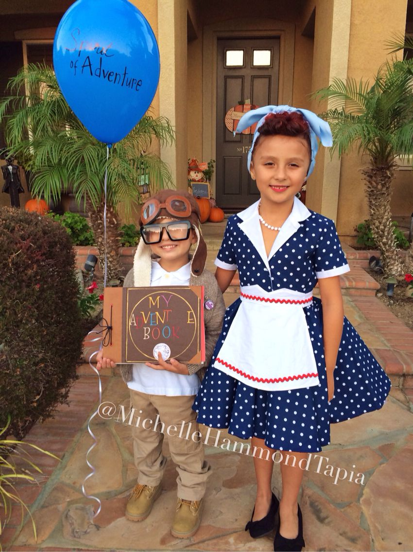 lucille ball of i love lucy and carl from disney pixar up halloween