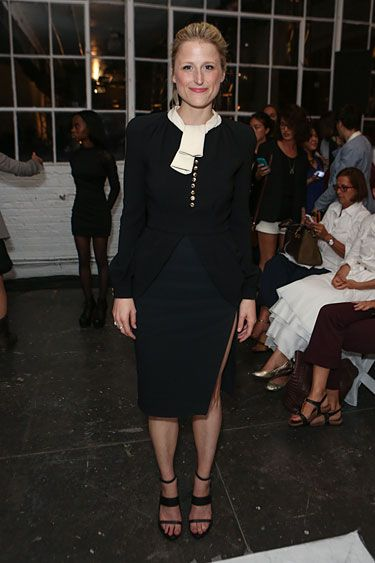 Altuzarra Front Row - Mamie Gummer #nyfw | Fashion