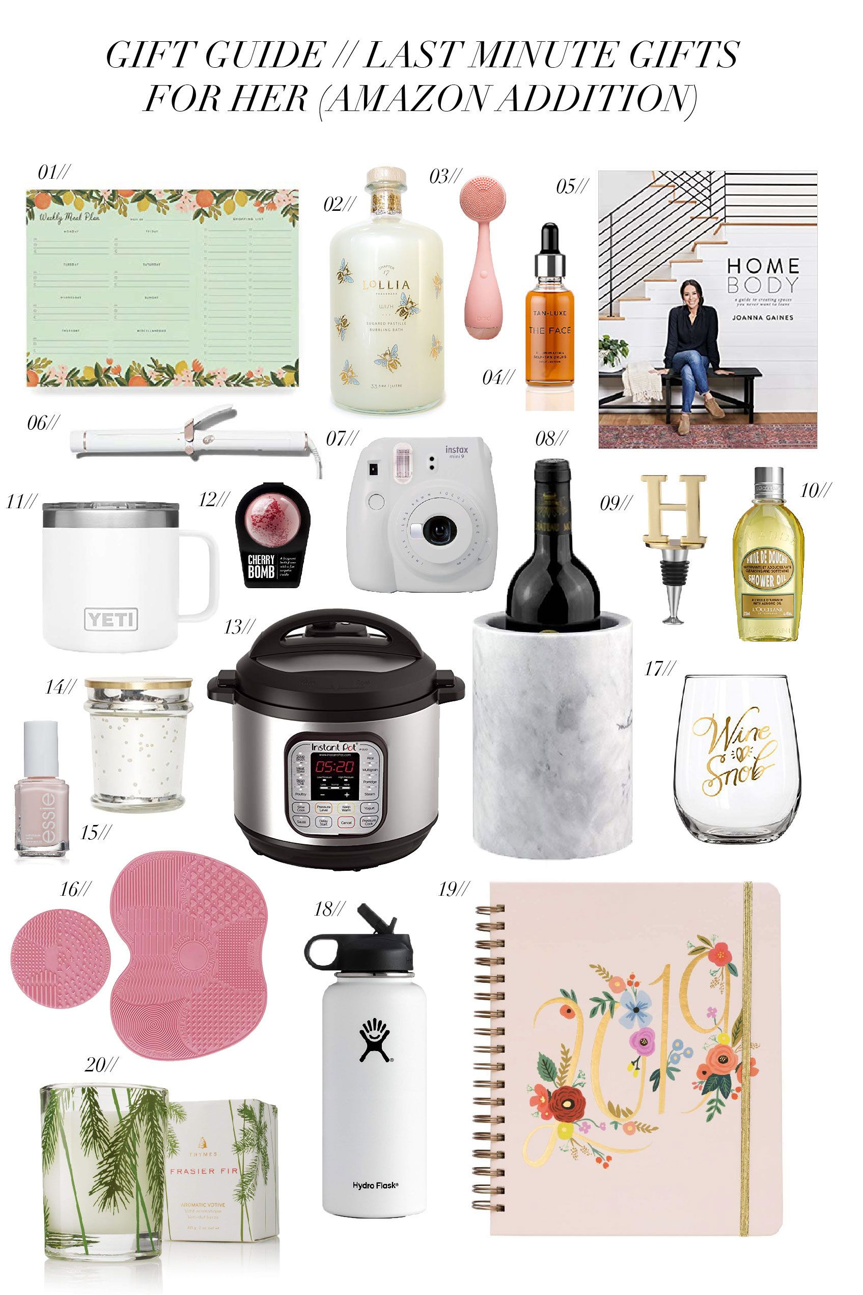 Gift Guide // Last Minute Gifts from Amazon Gift guide