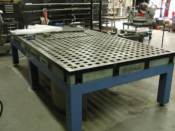 Welding Table Designs welding table design review weldingweb welding forum for pros and enthusiasts Weldsale Cast Acorn Welding Table