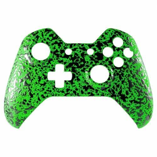 ModFreakz™ Front Shell 3D Splash Emerald Green For Xbox One