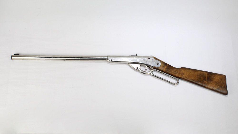 antique estate daisy 1000 shot model 27 bb gun - vintage air rifle 1915 - vr