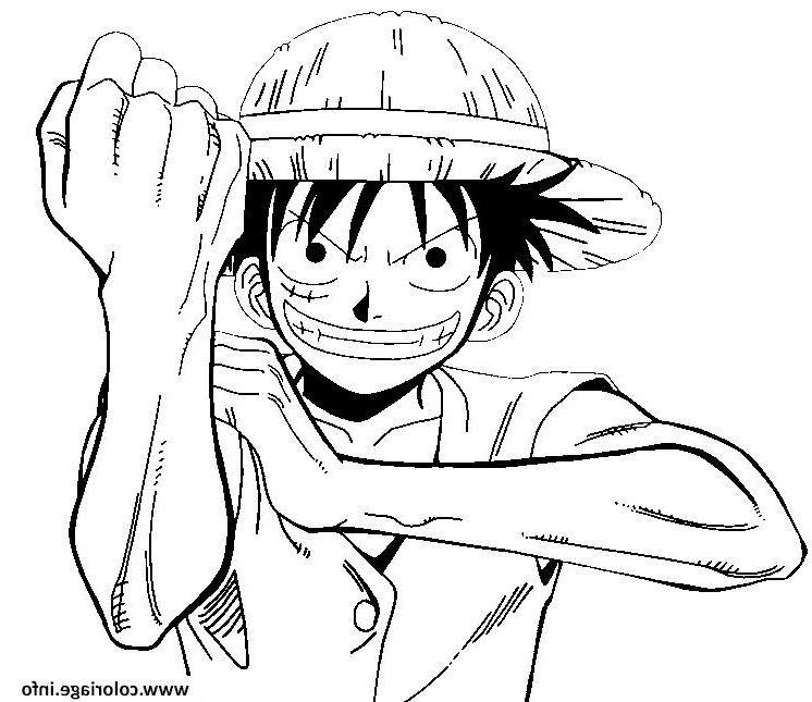 One Piece Geste Mechant Onepiece Coloriage Dessin One Piece