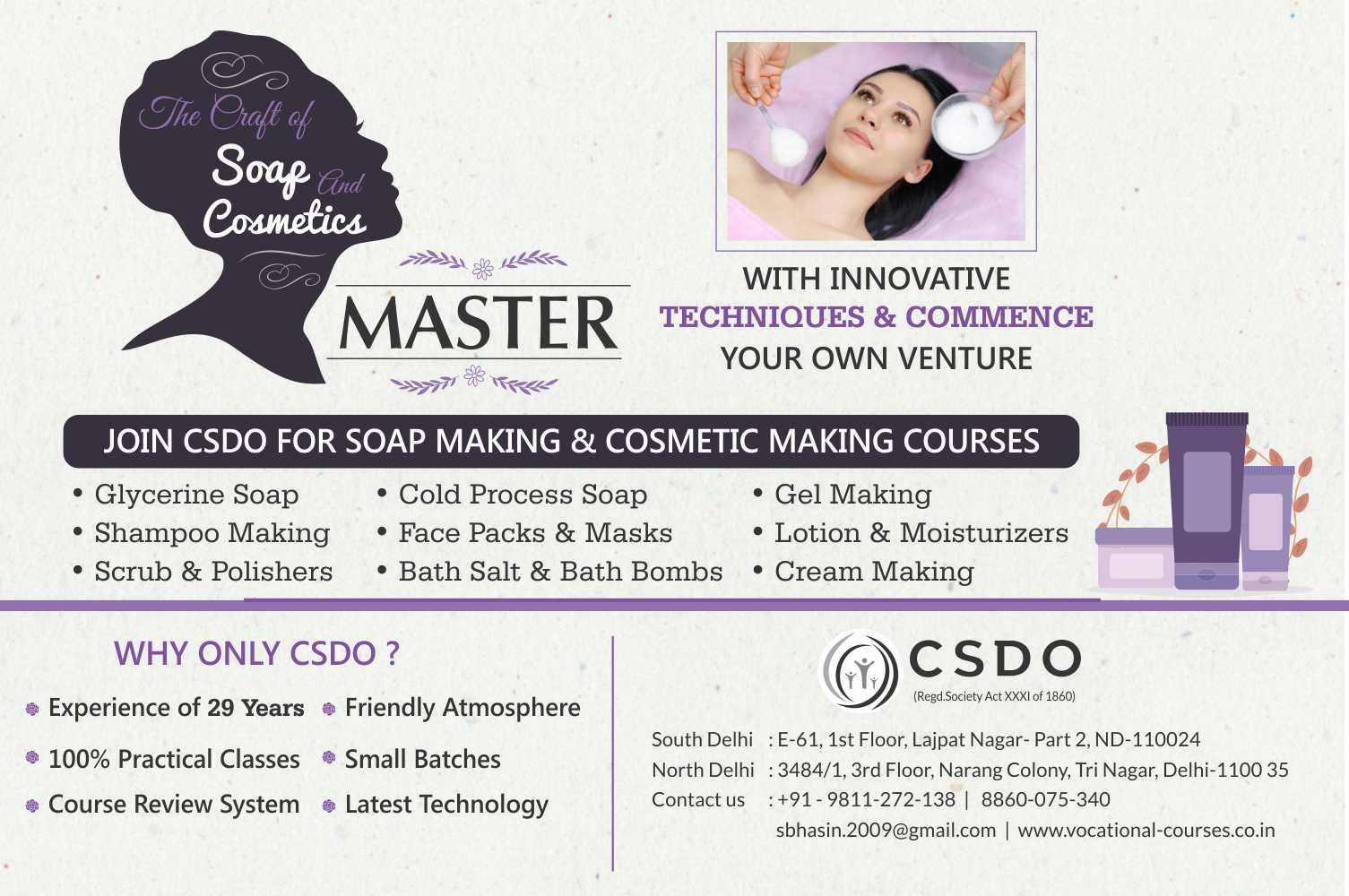 wellness products classes by csdo Making cosmetics, Soap