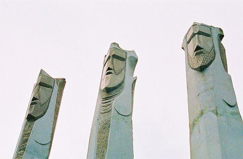 Monumento Reyes Magos  Guavate, Cayey, Puerto Rico