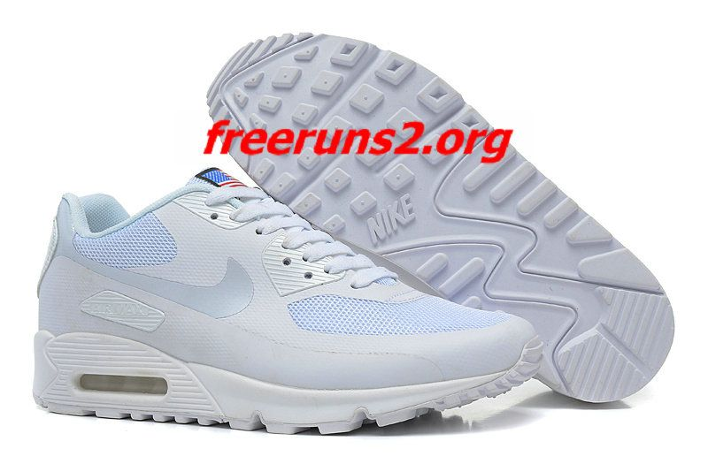 White White Nike Air Max 90 Hyperfuse Quickstrike (USA
