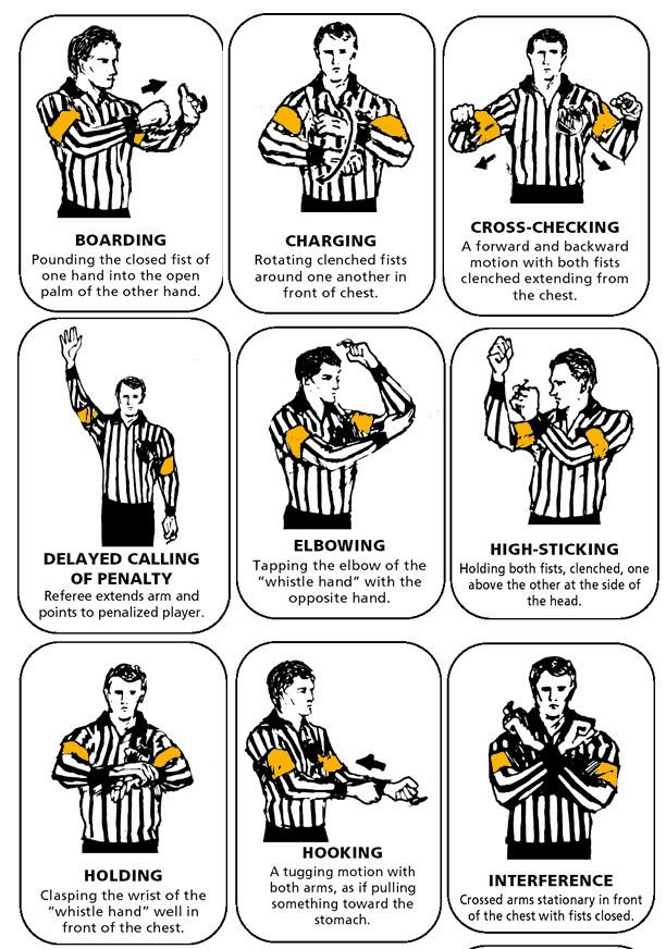 Basic Rules Of Nhl Hockey A Visual Guide Hockey Games Hockey Rules Hockey