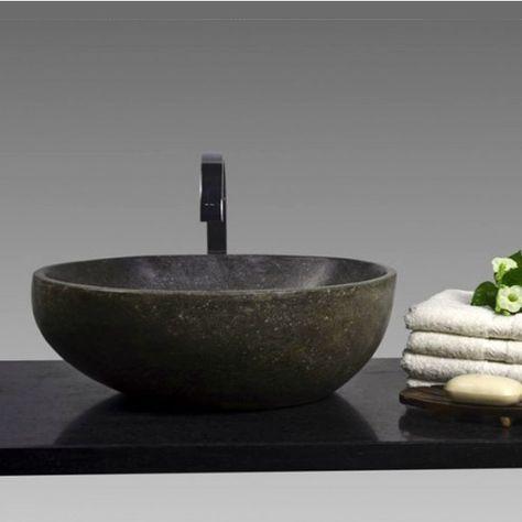 Naturstein Waschbecken 40 Cm Poliert