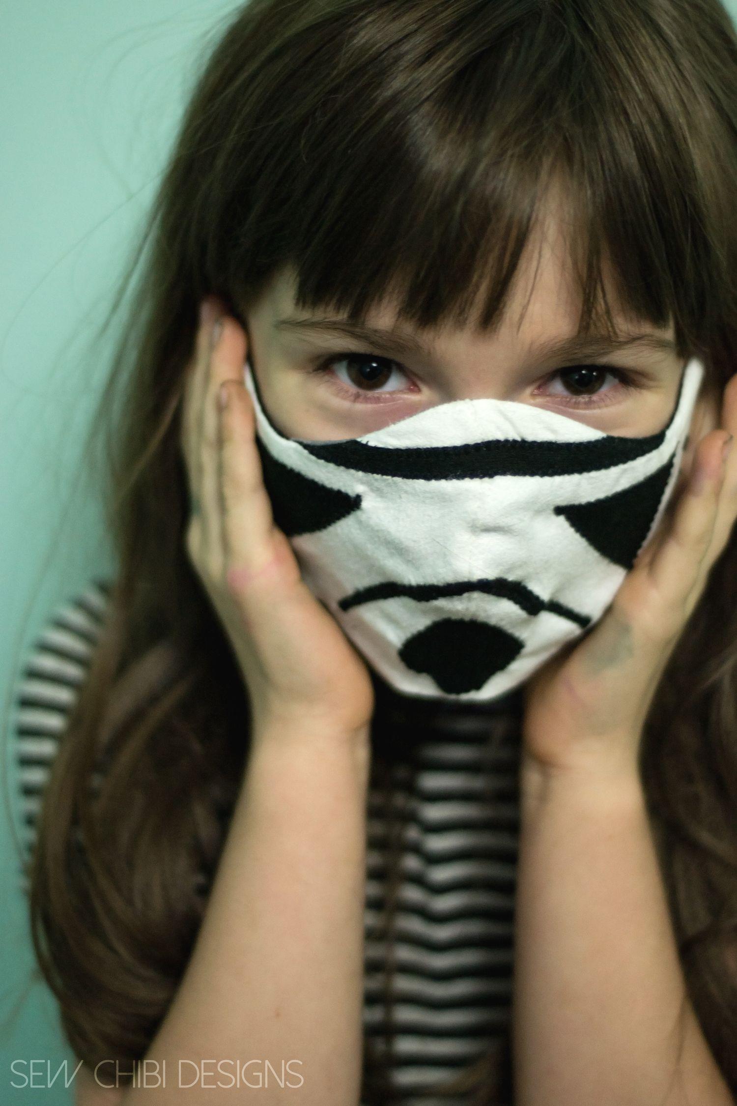 Star Wars Inspired Reversible Face Masks Face, Star wars