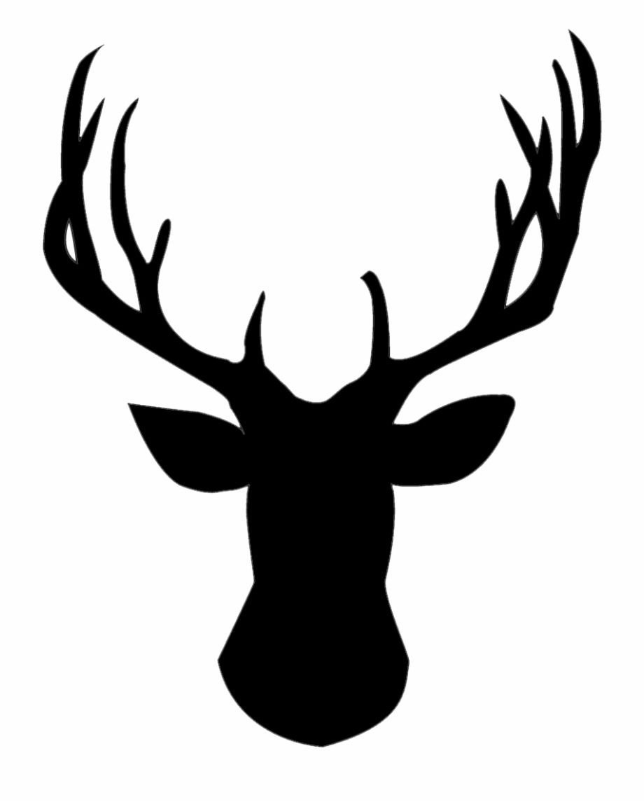 Use This Silhouette For The Bleach Tees Deer Head Silhouette Png Is A Free Transparent Png Image Search And Fi Deer Head Silhouette Silhouette Png Deer Head