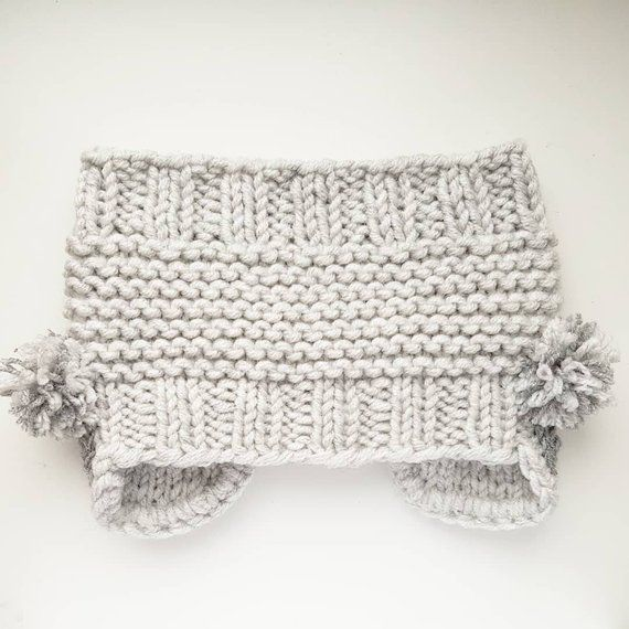 Koala Headband, Ear Warmer, Knit Headband, Head Wrap, Girls Headband ...