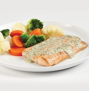 Salmon in Dill Sauce - 3 pts