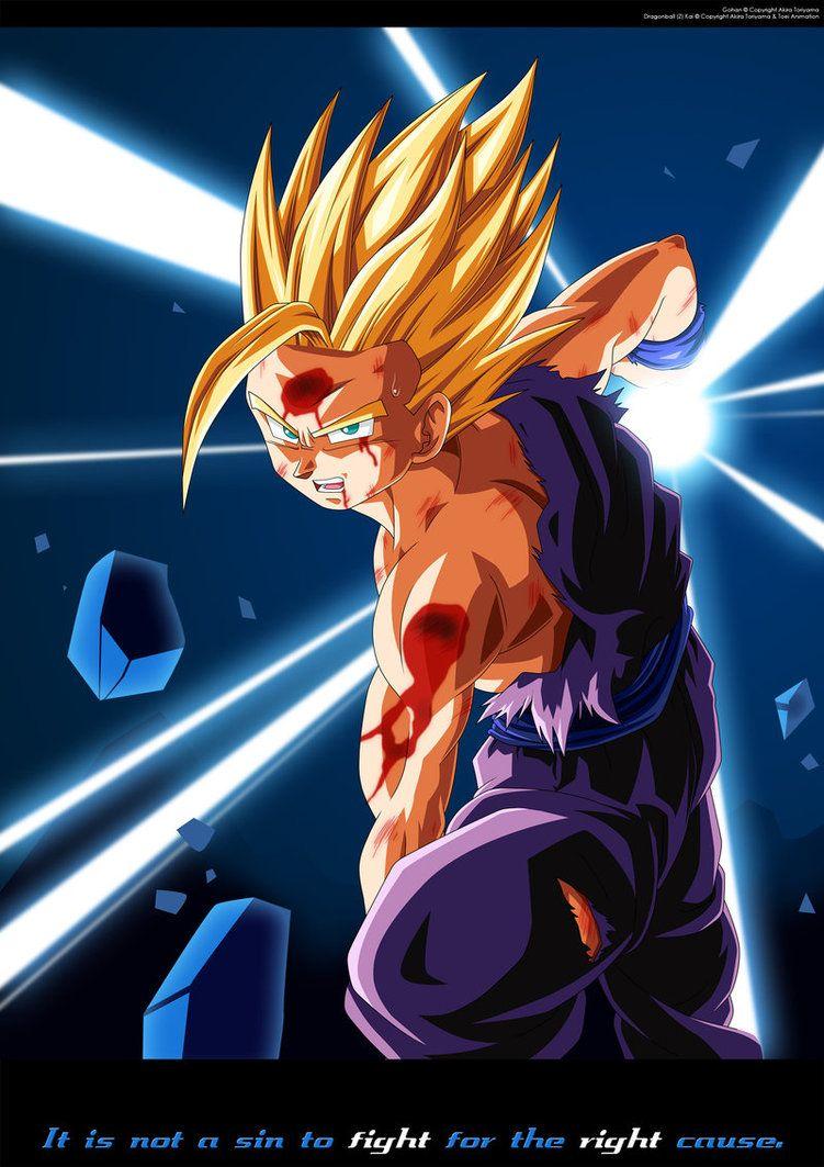 Super Sayain Son Gohan Dragon Ball Z Iphone Wallpaper Dragon Ball Art Dragon Ball
