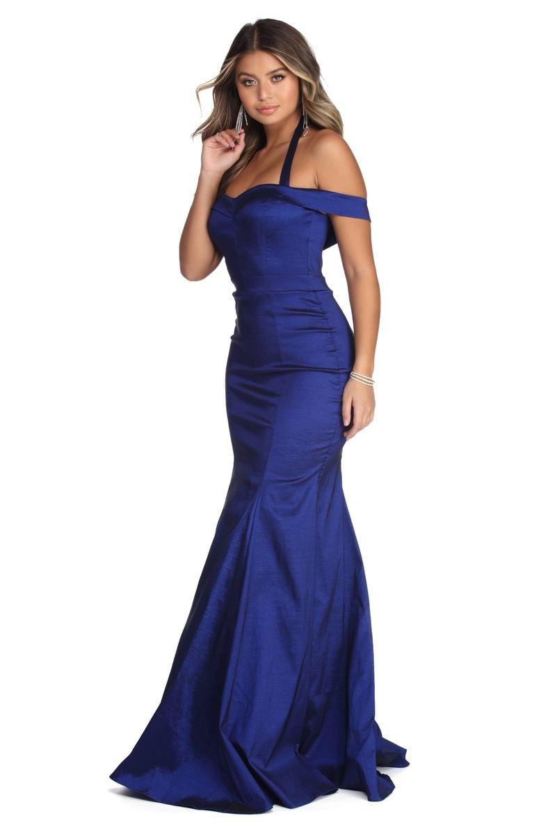 Leighton Formal Taffeta Mermaid Dress In 2021 Dresses Womens Prom Dresses Strapless Dress Formal [ 1200 x 801 Pixel ]