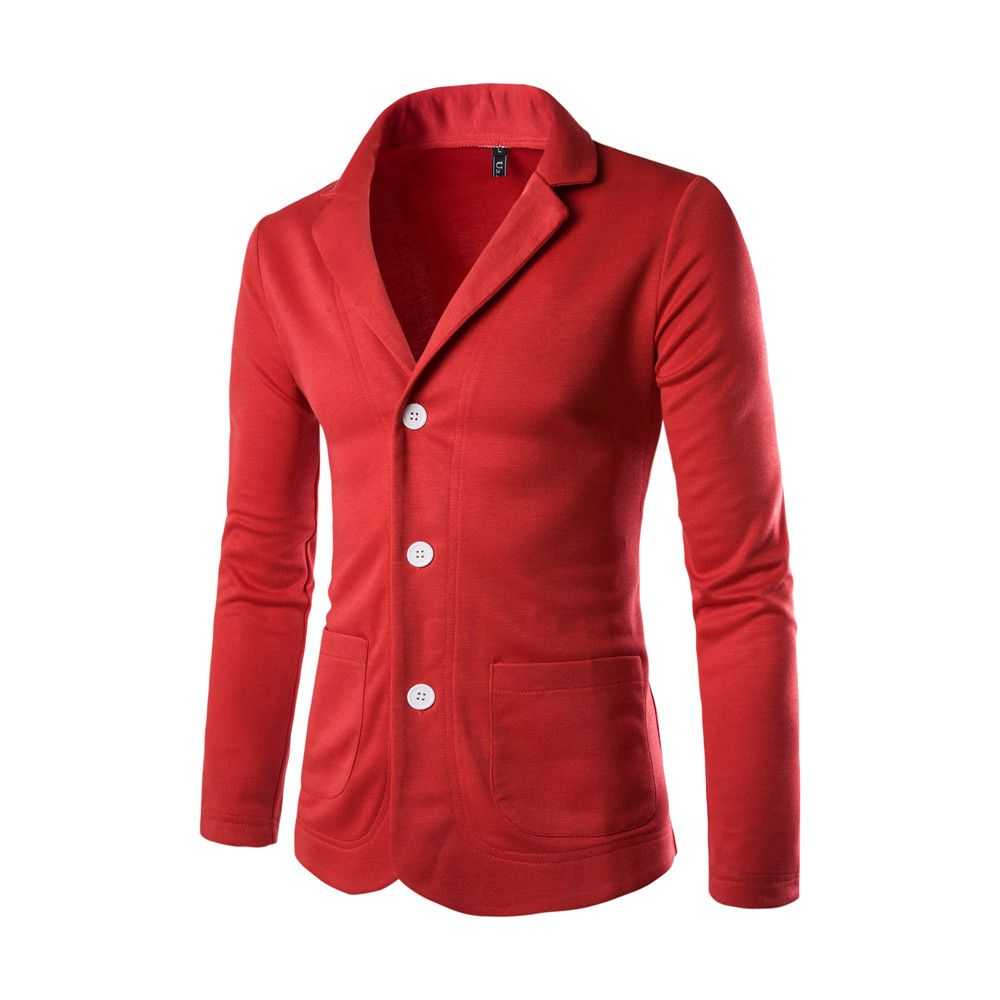 Wholesale Product Snapshot Product name is 2016 New Brand Clothing Spring Suit Coat Men Blazer Slim Fit Costume Homme Suit Jacket Masculine Blazer
