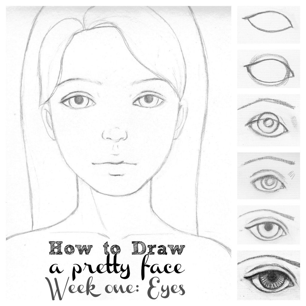How to draw a nose with a simple pencil
