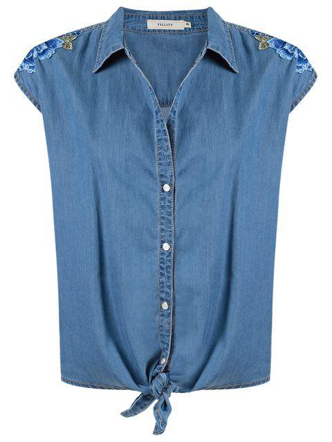 Compre Fillity Camisa jeans em Fillity from the world's best independent boutiques at farfetch.com. Compre em 400 boutiques em um único endereço.