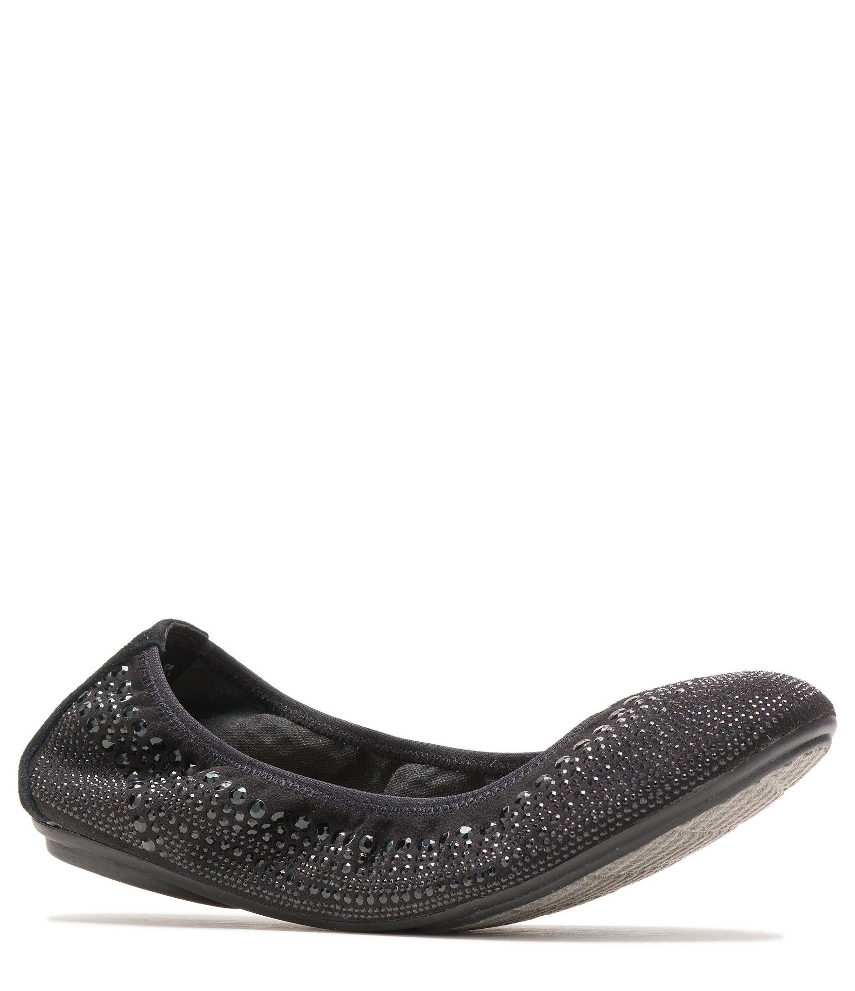 Hush Puppies Chaste Studded Leather Ballet Slip Ons In 2020 Studded Leather Hush Puppies Leather