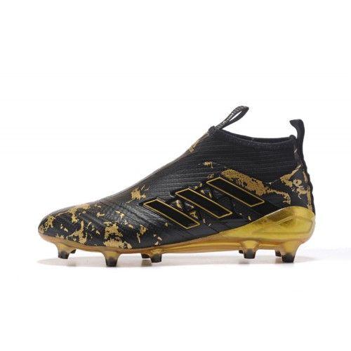 buy popular 686b3 a972a  197.99  Adidas ACE Fotbollsskor - Bast 2017 Adidas ACE 17 PureControl FG  Svart Guld Fotbollsskor