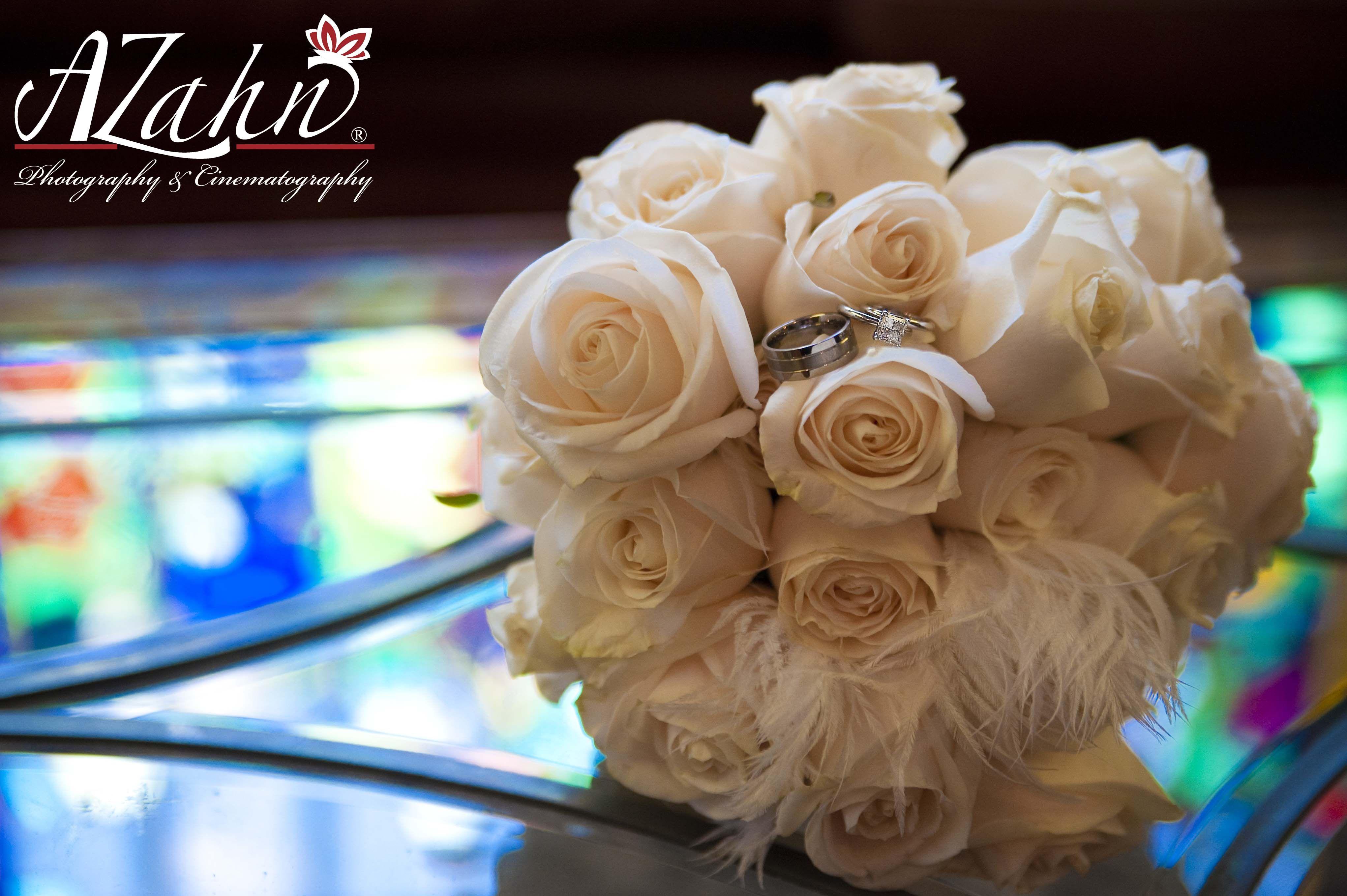 White Bouquet, Wedding Flowers, Wedding Photos,  2011©AZahn Photography & Cinematography, http://www.azahn.com