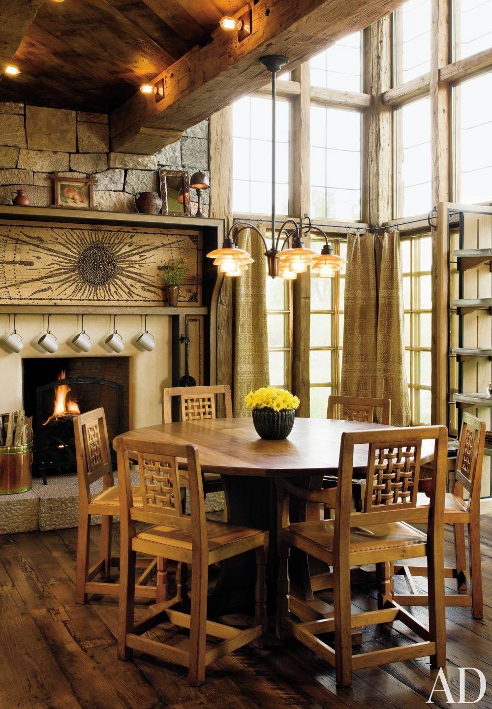 Rustic Dining Room By Studio Sofield In Colorado