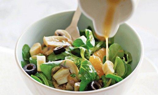 Salada de canónigos