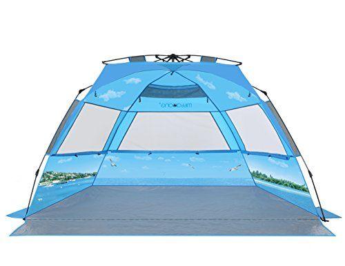 mittaGonG Pop Up Portable Beach Tent Sun Shelter Blue Sky... /  sc 1 st  Pinterest & mittaGonG Pop Up Portable Beach Tent Sun Shelter Blue Sky... https ...