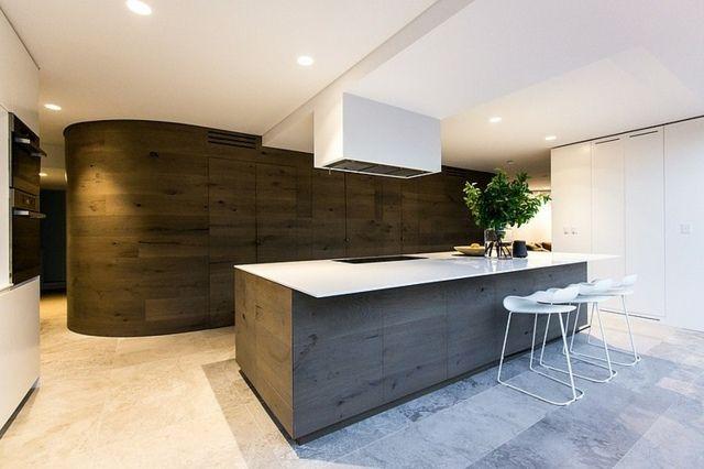 99 idées de cuisine moderne où le bois est à la mode | Cuisine ...