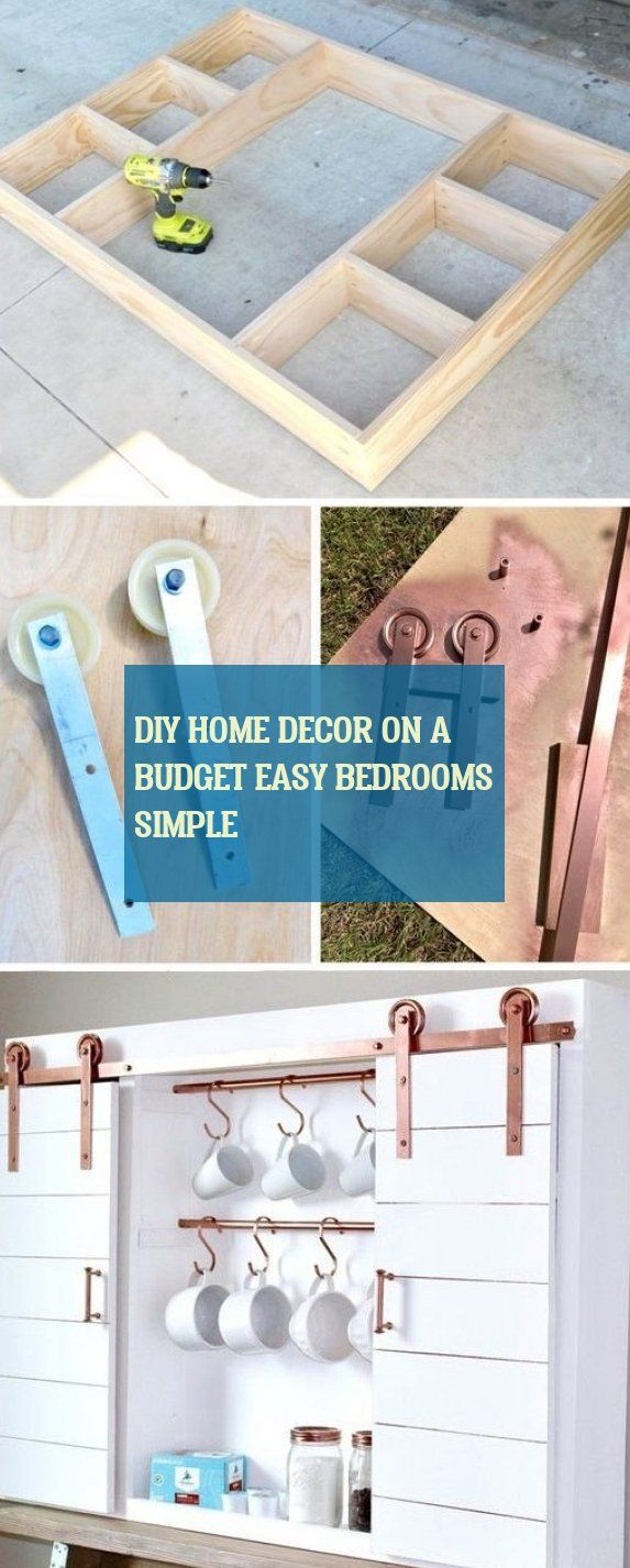 diy home decor on a budget easy bedrooms simple