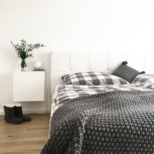 Plaid haken: Do It Yourself   Haken, Plaid and Bedrooms