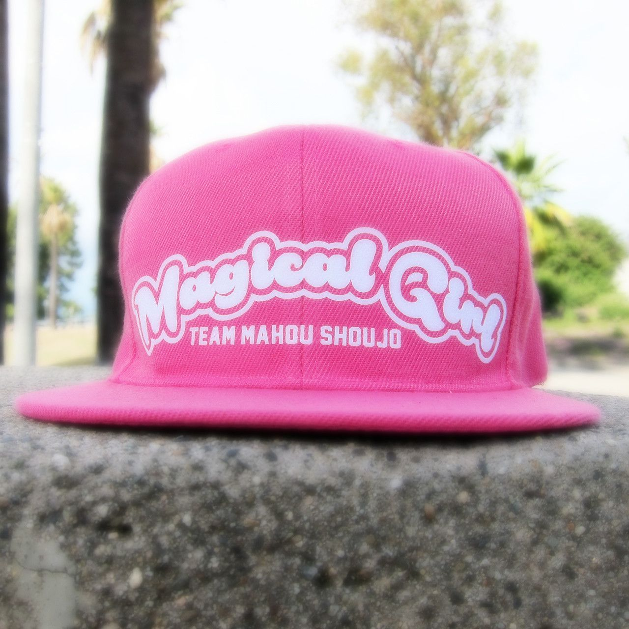 e912ab627d8 Magical Girl Snapback Hat Cap