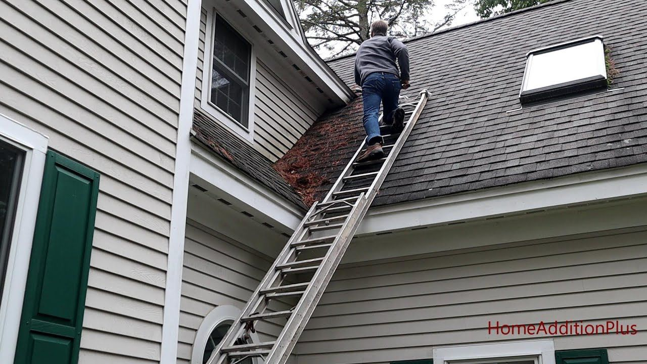 In this video I show how to clean roof valleys in