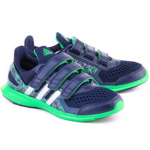 Hyperfast Granatowe Nylonowe Sportowe Dzieciece S83007 Sneakers Shoes Fashion