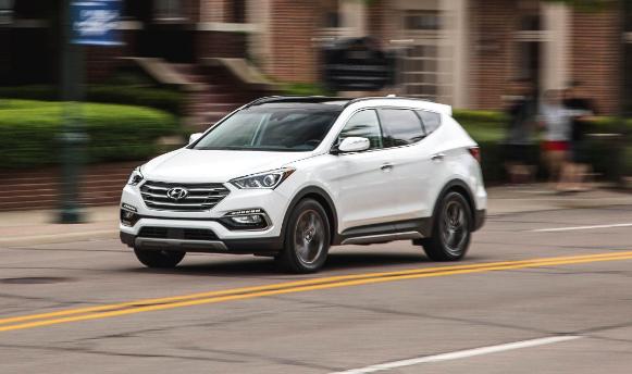 2018 Hyundai Santa Fe Sports Redesign