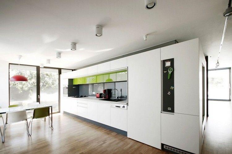 Couleur pour cuisine \u2013 105 idées de peinture murale et façade House
