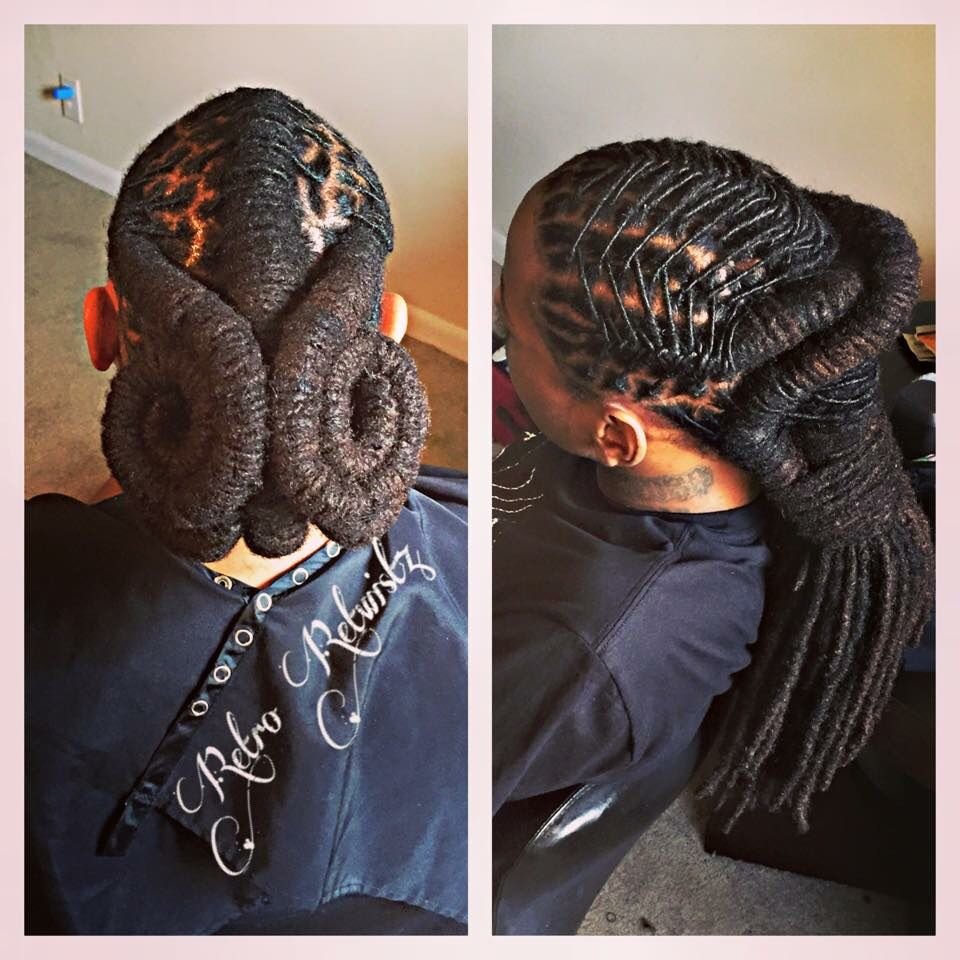Retro Retwistz Hairstyles Pinterest Retro Locs And