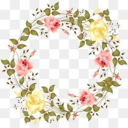 Corona De Flores De Color Clipart De Flores Corona Flores Png Y Psd Para Descargar Gratis Clipart De Flor Marcos Con Flores Ideas Para Logotipo