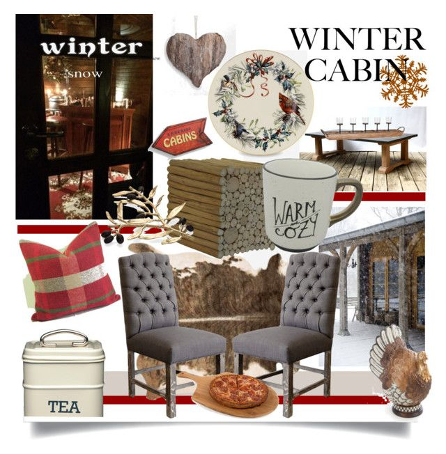 """December 31"" by anny951 ❤ liked on Polyvore featuring interior, interiors, interior design, home, home decor, interior decorating, Zara Home, Lenox, Loloi Rugs and Baum Bros."
