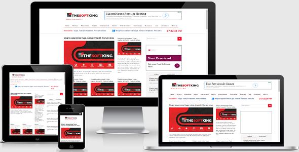 eNews - Online Newspaper & Magazine CMS | PSD Templates | Newspaper