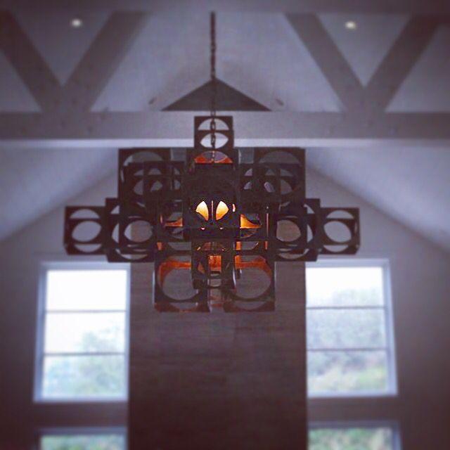 The Box Chandelier By Vanessa Bell Omega Lighting Design Berkeley Ca