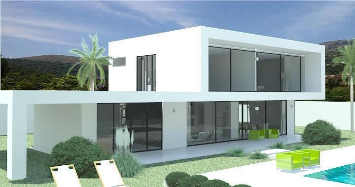 modern villas for sale in spain portugal france dubai. Black Bedroom Furniture Sets. Home Design Ideas