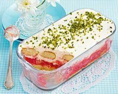 Rhabarber-Quark-Trifle #trifledesserts