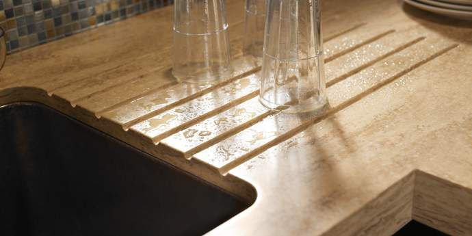 Solid Surface Countertops Durable And Less Expensive Option Than