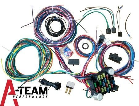 A Team Performance 21 Circuit Wiring Harness Street Universal Wire