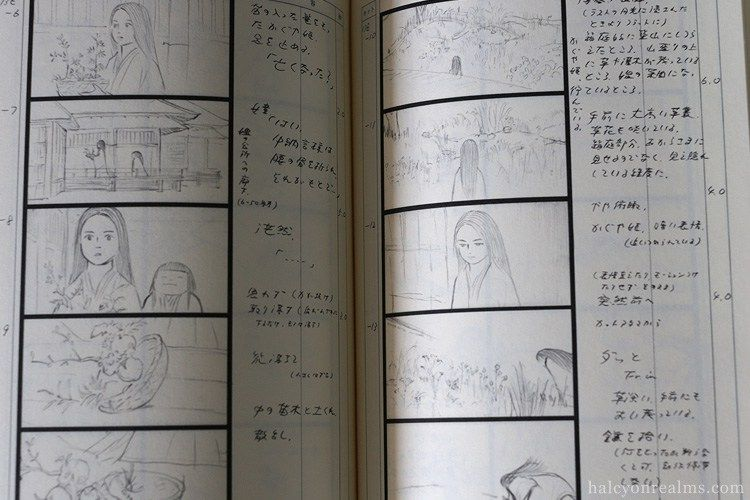 The Tale Of Princess Kaguya Storyboard Book Review  Storyboard