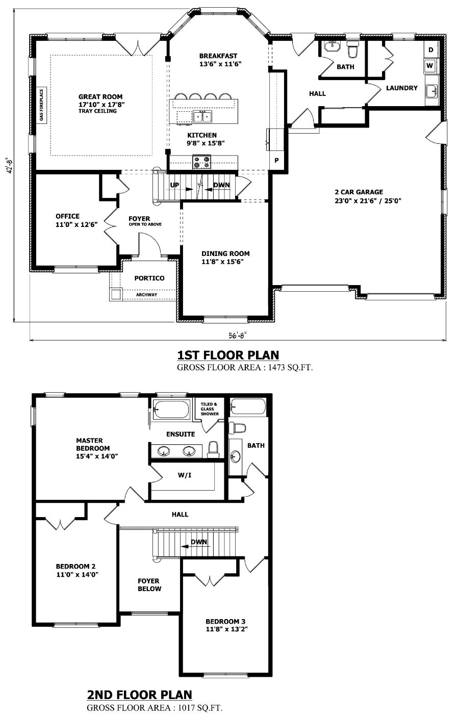 Powder Room Position Two Storey House Plans House Plans Two Storey House