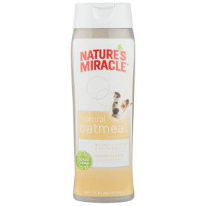 Nature S Miracle Natural Oatmeal Shampoo For Dogs Petsmart Oatmeal Dog Shampoo Oatmeal Shampoo Nature S Miracle
